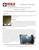 Engineered Vibration Dampener Solves the Problem