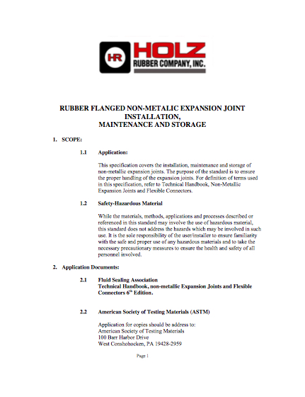 Holz Rubber Technical Support