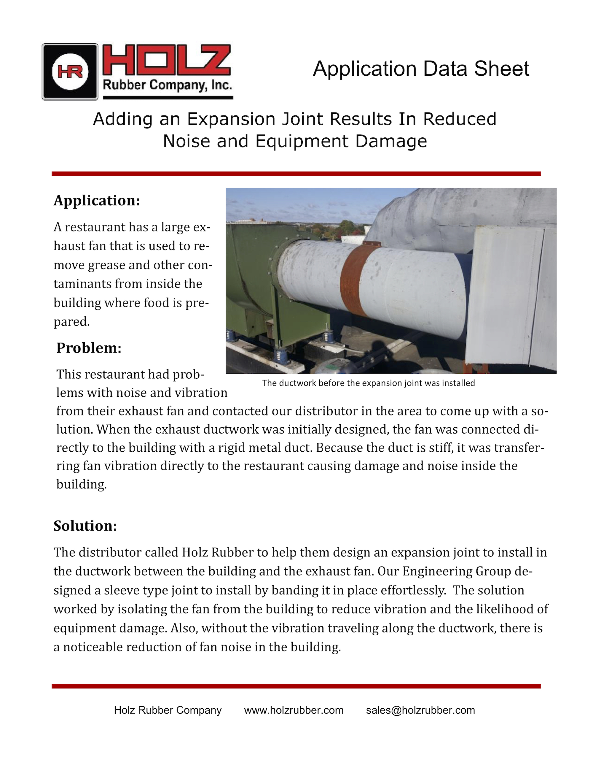 Failed Expansion Joints Cause Unplanned Outages At Ethanol Plant