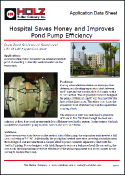 Holz Rubber Application Data Sheet Hospital Saves Money and Improves Pond Pump Efficiency