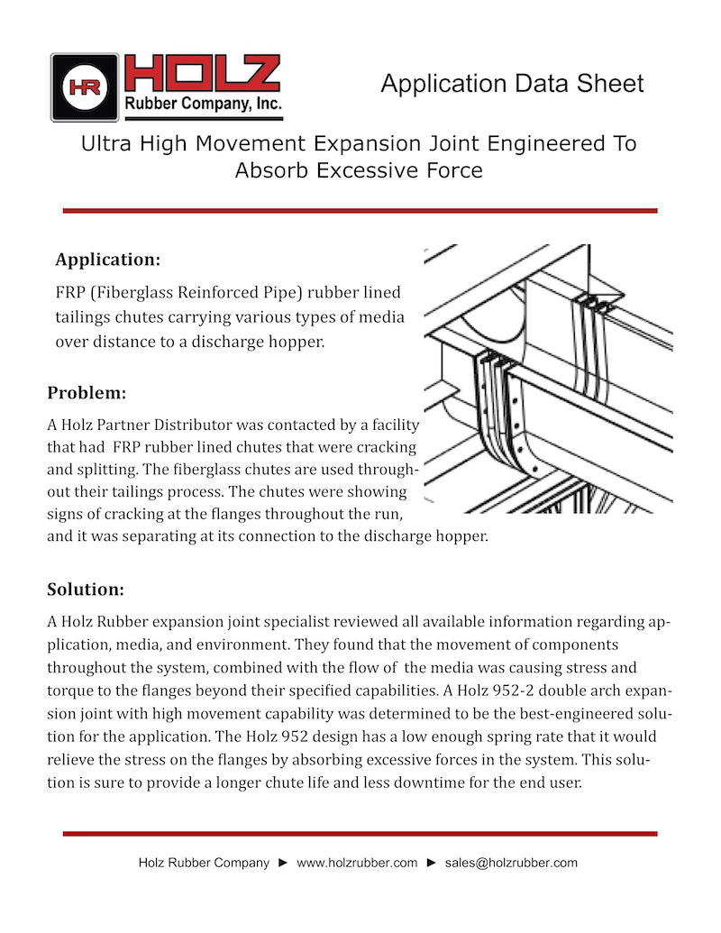 Ultra High Movement Expansion Joint Engineered To Absorb Excessive Force